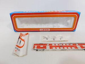 CJ874-0, 5 #Märklin H0 Empty Box With Service-Heft/Description For 3092 Steam
