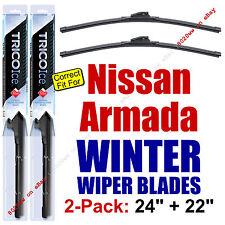 WINTER Wiper Blades 2-Pack Premium - fit 2005-2015 Nissan Armada - 35240/220