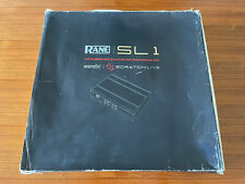 Rane Serato SL1 Mint Condition 2 Vinyls Complete In Box Software & Cables Nice!