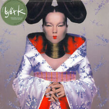 "BJORK ""HOMOGENIC"" GREEN VINYL LP RARE  5000 EXEMPLAIRES BRAND NEW, SEALED"