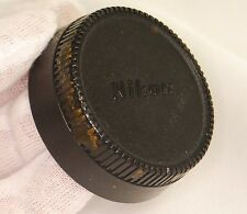 Nikon Lens Rear Cap Cover LF-1 stained with glue Made in Japan original S2001006