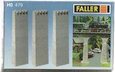 Lot N°2 FALLER 120479 Piliers de pont