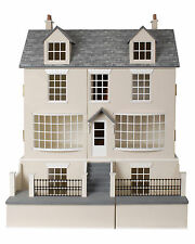 Antique Shop Dolls House & Basement 1:12 Scale Unpainted Collectable Kit