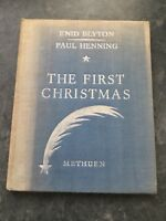 The First Christmas 1945, Methuen, Enid Blyton, Paul Henning, First Edition