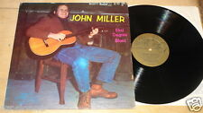 JOHN MILLER ~ FIRST DEGREE BLUES ~ USA BLUE GOOSE LP 1972 WITH RARE  INSERT
