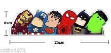 Superhero Car Window Decal/Sticker - Batman,Spider-Man,Iron Man,Hulk