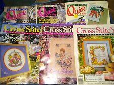 Cross Stitch Magazines -6 Books - 1990-1994