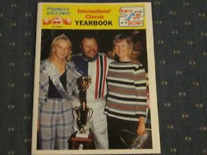1975 Oswego Speedway Classic Yearbook Jim Shampine