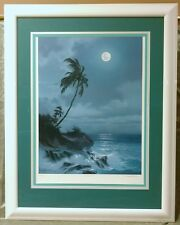 """""""Silver Trail"""" Tropical Signed Numbered Lithograph 149/450 Roy Gonzalez Tabora"""