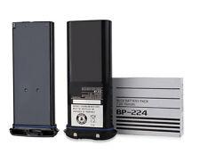 BP224 Ni-Cad Battery For Icom IC-M2A IC-M2 IC-GM1600 IC-M32 IC-M31 Radio 750mAh