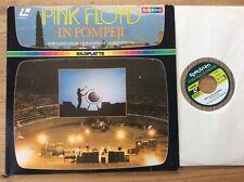 Laserdisc Pink Floyd – In Pompeji - Spectrum – 791 296 1  PAL