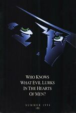 THE SHADOW Movie POSTER 27x40 D Alec Baldwin John Lone Penelope Ann Miller Peter