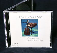 MARANATHA COLOURS I Love You Lord 1990 CD INSTRUMENTAL PRAISE WORSHIP