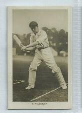 LANCASHIRE - Ernest Tyldesley #4 Boys Realm Famous Cricketers 1922 Card