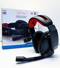SENNHEISER GSP 350 PC Gaming casque à réduction de bruits microphone. NEUF