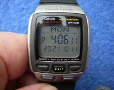 Good CASIO DB-37H Digital Multi-Lingual SPORT WATCH-Runs Well-NR