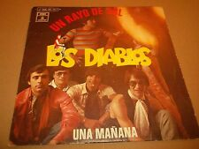 "LOS DIABLOS "" UN RAYO DE SOL "" 7"" SINGLE SPAIN P/S EXCELLENT 1970 ODEON"