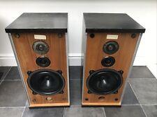 B&W DM4 Black Bowers and Wilkins Floor Standing Speakers Audiophile England UK