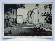 SERRAMAZZONI Via Giardini Modena vecchia cartolina