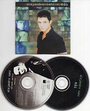 """ALEJANDRO SANZ """"MAS"""" RARE SPANISH DOUBLE CD WITH """"CORAZON PARTIO"""" REMIXES"""