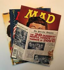 Lot of (3) MAD Magazine 413, 414 & 415 - January, February & March 2002