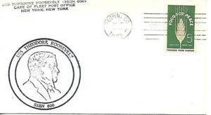 THEODORE ROOSEVELT (SSBN-600) 16 Jul 1963 PM Groton CT Submarine Base Station
