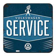 5X METALL UNTERSETZER VW SERICE VOLKSWAGEN 9x9cm COASTER 46144