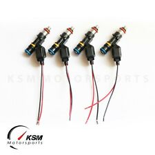 4 x 550cc fuel injectors for MINI COOPER S R52 R53 2003-2007 FIT BOSCH EV14