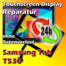 Samsung Galaxy Tab T530 Touchscreen Display Glas Reparatur Austauschen Schwarz