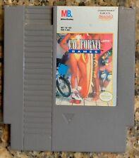Nintendo NES Game CALIFORNIA GAMES w/ Sleeve Original