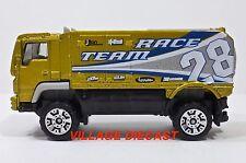 2008 Matchbox #98 Desert Thunder V16® LIME GOLD METALLIC/RACE TEAM 28/MINT