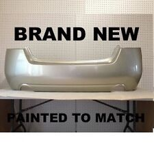 Fits; NEW 2010 2011 2012 Nissan Altima Sedan Rear Bumper Painted to Match (NI110