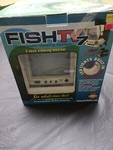 FishTV 7 Underwater Viewing System - Fish TV Fish Finder - Camera Monitor NEW