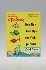 1998 ONE FISH TWO FISH RED FISH GO FISH Card Game Dr. Seuss MINT Condition