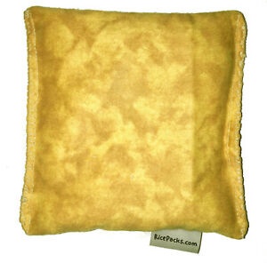 Yellow Tie Dye Pack Hot Cold You Pick A Scent Microwave Heating Pad Reusable