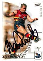✺Signed✺ 2002 ADELAIDE CROWS AFL Card MARK RICCIUTO