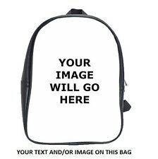 Personalized YOUR IMAGE/TEXT School childrens kindy preschool Bag Backpack
