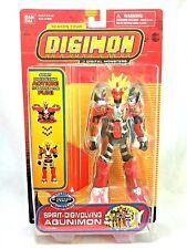 "Bandai Vintage 1997 Digimon Season 4 Digivolving Agunimon 6"" Action Figure MIP"