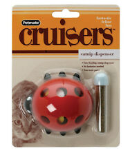PETMATE BOODA CATNIP LADY BUG CRUISER CHASE KITTEN CAT TOY FREE SHIP IN THE USA