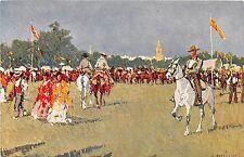 Spain postcard Romeria del Rocio Sevilla Seville Andalucia