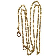 Gold tone Lumachina Link Replacement Crossbody Purse Chain Double Jump Ring