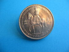 BRILLIANT UNCIRCULATED QUEEN ELIZABETH II 1953 CROWN THE QUEENS CORONATION