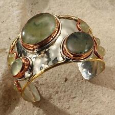 New Tara Mesa Prehnite Cuff Bracelet