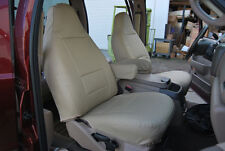 FORD F-150 1997-2002 IGGEE S.LEATHER CUSTOM FIT SEAT COVER 13COLORS AVAILABLE