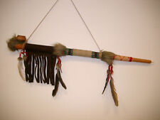 NATIVE INDIAN STYLE FUNCTIONAL AND DECORATIVE PEACE PIPE PIPES CALUMET / pipe70