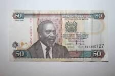 50  SHILINGI DE KENYA, 1º ABRIL DE 2006    MBC   VER FOTO
