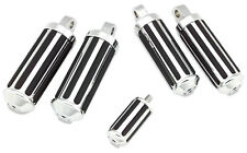 Chrome Rail Foot Pegs for Harley Footpegs Set With Chrome Rail Shift Peg