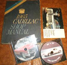 1965 Cadillac Shop Manual Fleetwood Eldorado De Ville 60 75 Calais Service Book