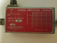 Narda 3043-10 Coaxial Directional Coupler 1.7-4.2GHz Microwave Type-N(f) -10dB