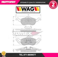 1217 Kit pastiglie freno a disco ant.Ford Focus I (DAW,DBW,DFW) 98> (MARCA-WAG)